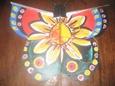 Plano barrilete mariposa