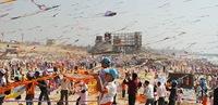 Ninos y Cometas en Gaza