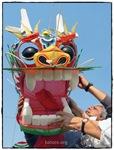 Dragon Chino detalle cabeza