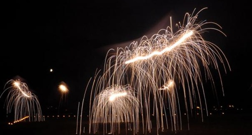 Kites on Fire