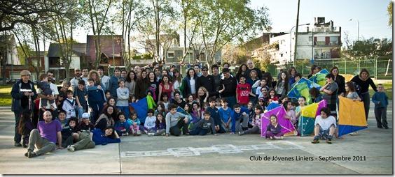 Foto grupal - Club de Jóvenes Liniers
