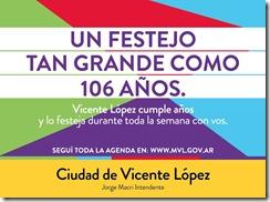 Vicente López 106 Años