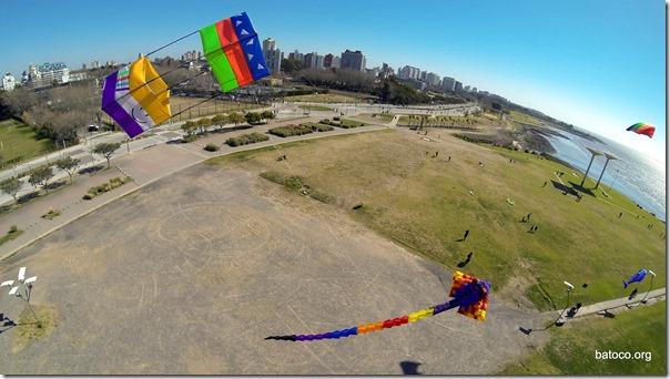 Vista Aérea del Paseo de la Costa - Monumento al Milenio