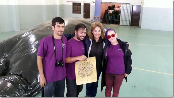 Camilo, Alejandro, Mabel, Sarita