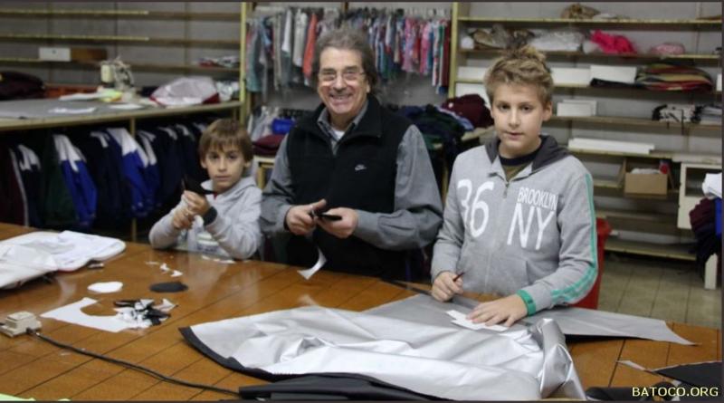 Juan Carlos y nietos