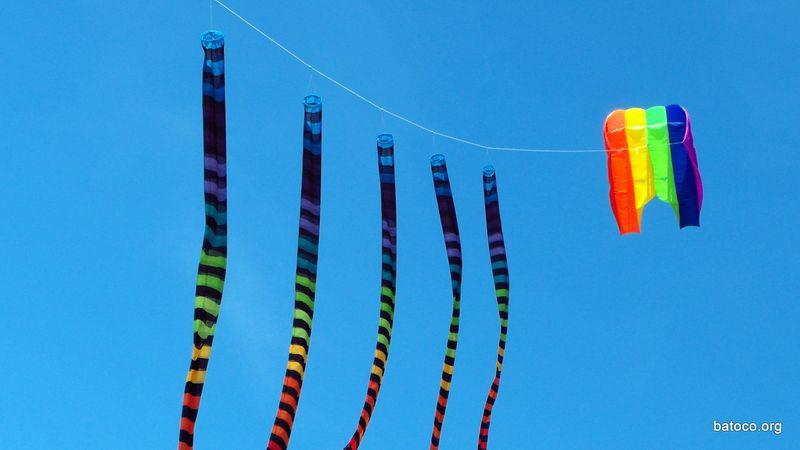 Colas coloridas