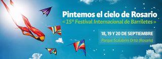 15 Pintemos el Cielo de Rosario Banner 2015