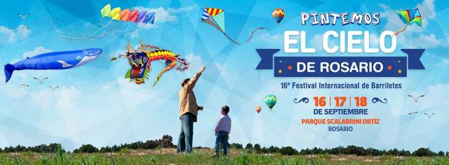 16 Edición del Festival Internacional Pintemos el Cielo de Rosario 2016