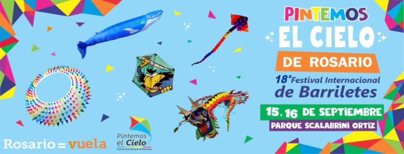 Festival Pintemos el Cielo de Rosario 2018