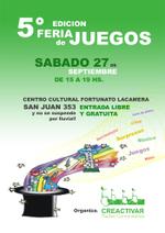 5ª Feria de Juegos